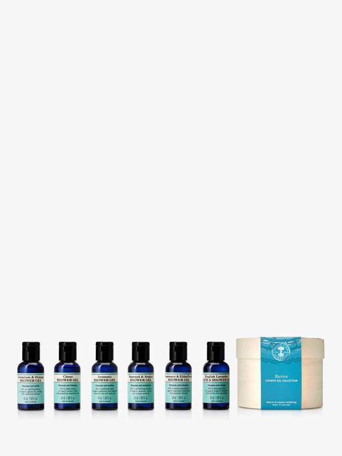 Neal's Yard Remedies Revive Shower Gel Collection Bodycare Gift Set