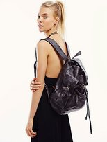 Moto Distressed Backpack by Old Trend