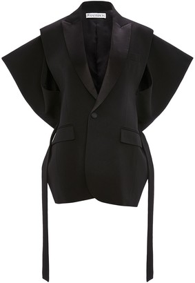 J.W.Anderson Kite sleeveless belted blazer