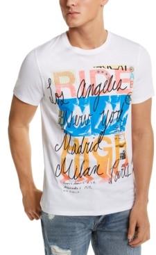 GUESS Men's Ride High Graphic T-Shirt