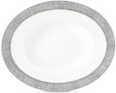 Vera Wang Wedgwood Gilded Weave Platinum Oval Open Vegetable Bowl