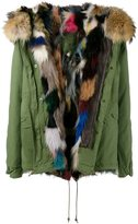 Mr & Mrs Italy fox and raccoon fur lined parka