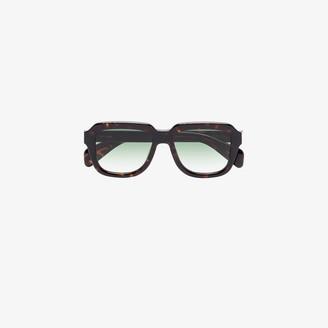 Chimi Brown Voyage Navigator tortoiseshell effect sunglasses