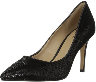 The Fix Amazon Brand Women's Regina Pointed-Toe Sequin Dress Pump