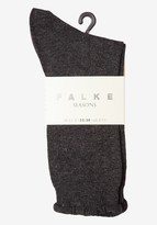 Toast Soft Marl Falke Socks