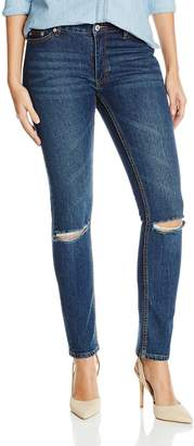 Cheap Monday Women's Common BFF Fit Relaxed Jean in Rewind Rip 26