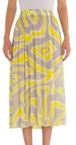 Emilio Pucci Long Jersey Skirt