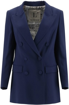 L'Autre Chose Double-Breasted Buttoned Blazer