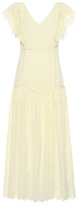 LoveShackFancy Cressida cotton maxi dress