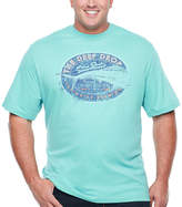 Izod Graphic Short Sleeve Crew Neck T-Shirt-Big and Tall