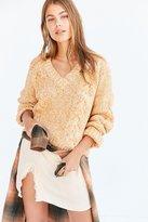 Kimchi & Blue Kimchi Blue Cable V-Neck Pullover Sweater
