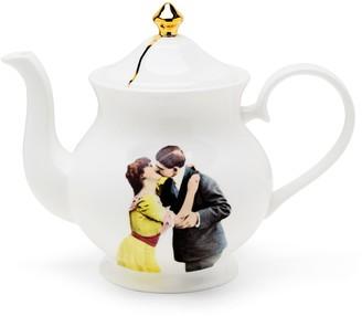 Melody Rose London Kissing Couple Bone China Teapot
