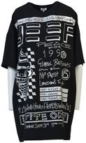 Kenzo Oversized Flyers Printed T-shirt Dress