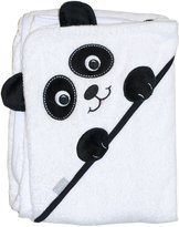 "Camilla And Marc Extra Large 40""x30"" Absorbent Hooded Towel, Panda, Frenchie Mini Couture"