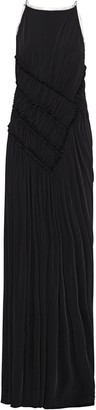 Jason Wu Open-back Ruched Stretch-jersey Gown