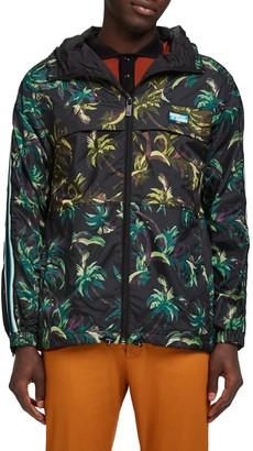 Scotch & Soda Seasonal Palm Print Jacket
