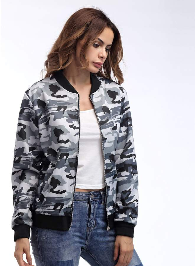 3be86b98ef3b9 Womens Camo Utility Jacket - ShopStyle