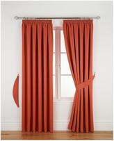 Very Woven Pleated Blackout Curtains