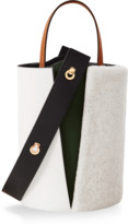 Danse Lente Mini Lorna Shearling Bucket Bag