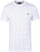 Fred Perry White Shadow Polka Dot T-shirt
