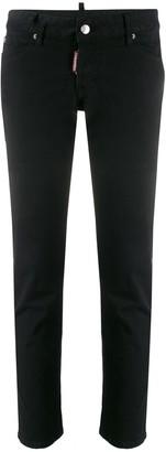 DSQUARED2 low-rise slim-fit jeans