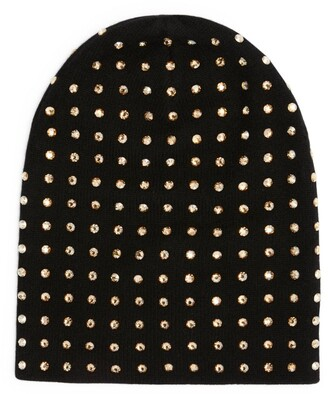 William Sharp Crystal-Embellished Beanie Hat