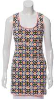 Pia Pauro Embellished Sleeveless Tunic
