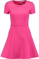 Halston Stretch-ponte mini dress