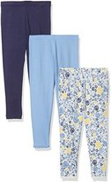 Mothercare Baby Girls' Floral 3 Pack Leggings