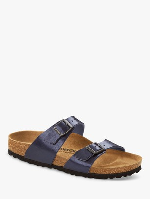 Birkenstock Sydney Double Strap Sandals, Midnight Blue