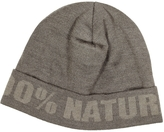 Moschino Brown Wool Hat