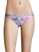 Wildfox Couture Floral Print Bikini Bottom