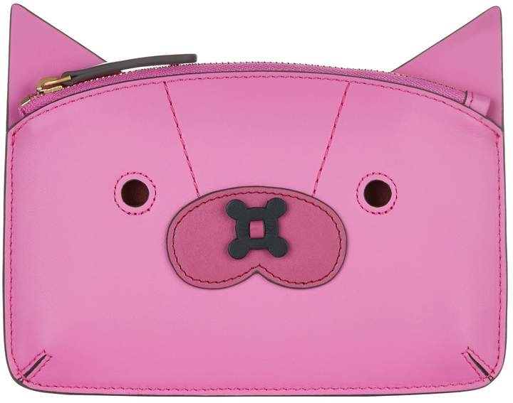 Anya Hindmarch Leather Fox Loose Pocket