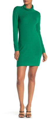 Angie Turtlneck Long Sleeve Knit Sweater Dress