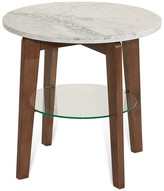 Palliser Furniture, Bellamie End Table, Marble Top, Round