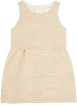 Chloé SLEEVELESS FIT & FLARE DRESS-CREAM SIZE 8