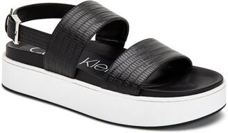 Calvin Klein Jolie Platform Sandal