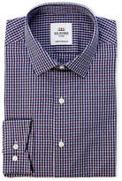 Ben Sherman Dobby Check Tailored Skinny Fit Dress Shirt
