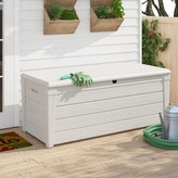 Keter Brightwood 120 Gallon Plastic Deck Box