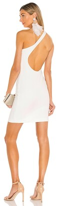 Alice + Olivia Rosia One Shoulder Mini Dress