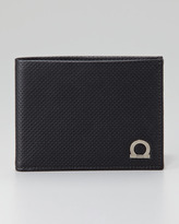 Salvatore Ferragamo Melrose Perforated Wallet