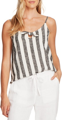 Vince Camuto Sleeveless Bold View Stripe Print Cami