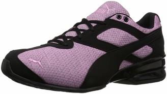 Puma Unisex-Kid's Tazon 6 Heather Rip Sneaker Orchid Black 11 M US Little Kid