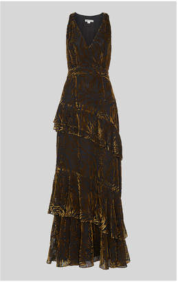 Whistles Edith Reed Print Maxi Dress