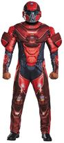 Teen Classic Halo Red Spartan Muscle Costume