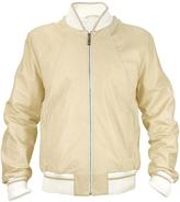 Schiatti & Co. Men's Beige Nappa Leather Zip Jacket