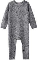 Joe Fresh Baby Boys' Sweater Romper, Grey Mix (Size 6-12)