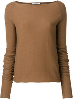 Dusan boat neck jumper