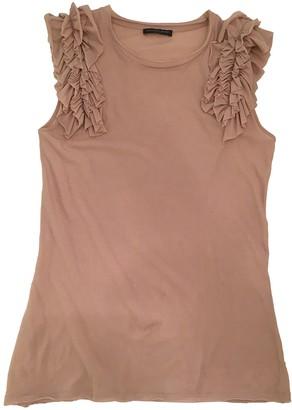 Alexander McQueen Pink Cotton Top for Women