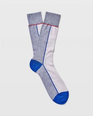 Club Monaco Colorblock Socks
